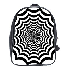 Spider Web Hypnotic School Bags (xl)