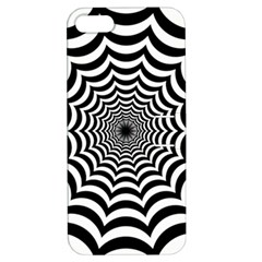 Spider Web Hypnotic Apple Iphone 5 Hardshell Case With Stand