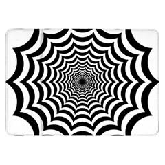 Spider Web Hypnotic Samsung Galaxy Tab 8.9  P7300 Flip Case