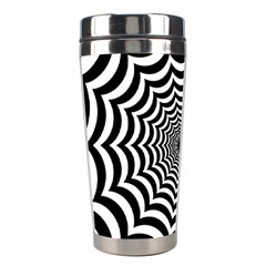 Spider Web Hypnotic Stainless Steel Travel Tumblers