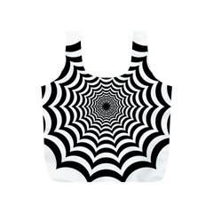 Spider Web Hypnotic Full Print Recycle Bags (s)
