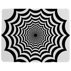 Spider Web Hypnotic Jigsaw Puzzle Photo Stand (rectangular)