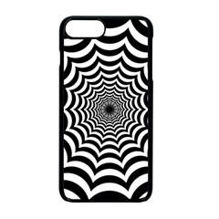 Spider Web Hypnotic Apple Iphone 7 Plus Seamless Case (black)