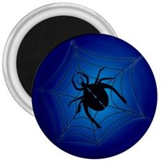 Spider On Web 3  Magnets