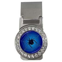 Spider On Web Money Clips (cz)