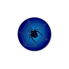 Spider On Web Golf Ball Marker (4 Pack)
