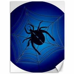 Spider On Web Canvas 36  X 48