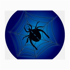 Spider On Web Small Glasses Cloth (2 Side)