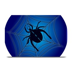 Spider On Web Plate Mats