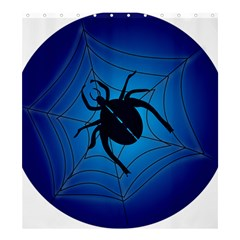 Spider On Web Shower Curtain 66  X 72  (large)