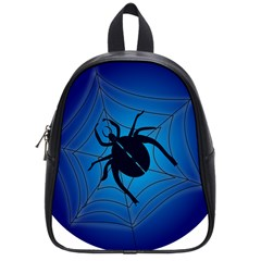 Spider On Web School Bags (small)