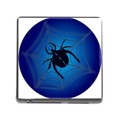 Spider On Web Memory Card Reader (square)