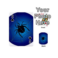Spider On Web Playing Cards 54 (Mini)