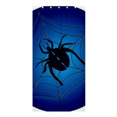 Spider On Web Shower Curtain 36  X 72  (stall)