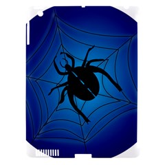Spider On Web Apple Ipad 3/4 Hardshell Case (compatible With Smart Cover)