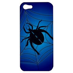 Spider On Web Apple Iphone 5 Hardshell Case