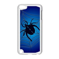 Spider On Web Apple Ipod Touch 5 Case (white)