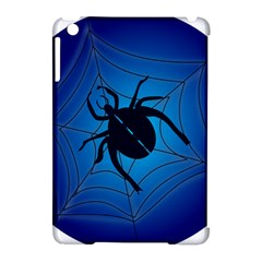 Spider On Web Apple Ipad Mini Hardshell Case (compatible With Smart Cover)