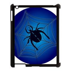 Spider On Web Apple Ipad 3/4 Case (black)