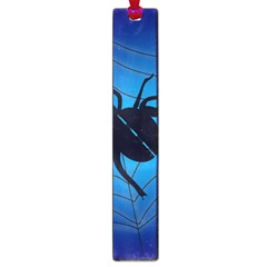Spider On Web Large Book Marks