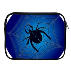 Spider On Web Apple Ipad 2/3/4 Zipper Cases