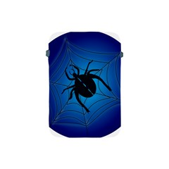 Spider On Web Apple Ipad Mini Protective Soft Cases