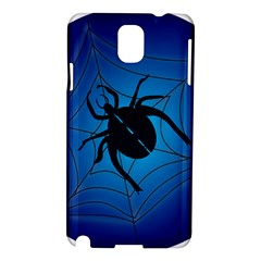 Spider On Web Samsung Galaxy Note 3 N9005 Hardshell Case