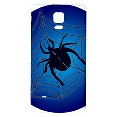 Spider On Web Galaxy Note 4 Back Case