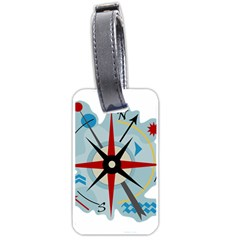 Navigation Luggage Tags (One Side)