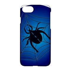 Spider On Web Apple Iphone 7 Hardshell Case