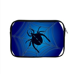 Spider On Web Apple Macbook Pro 15  Zipper Case