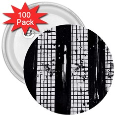 Whitney Museum Of American Art 3  Buttons (100 pack)