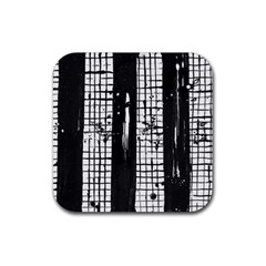 Whitney Museum Of American Art Rubber Square Coaster (4 Pack)