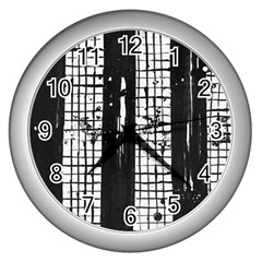 Whitney Museum Of American Art Wall Clocks (silver)