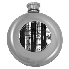 Whitney Museum Of American Art Round Hip Flask (5 Oz)