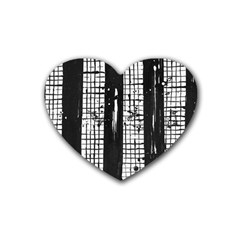Whitney Museum Of American Art Heart Coaster (4 Pack)