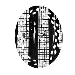 Whitney Museum Of American Art Ornament (oval Filigree)