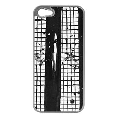 Whitney Museum Of American Art Apple Iphone 5 Case (silver)