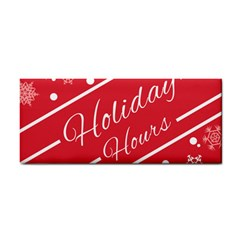 Winter Holiday Hours Cosmetic Storage Cases