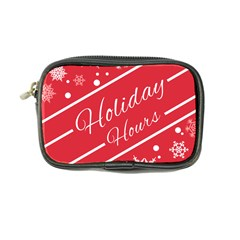 Winter Holiday Hours Coin Purse