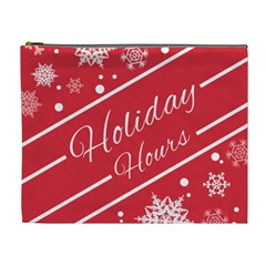 Winter Holiday Hours Cosmetic Bag (xl)
