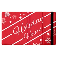 Winter Holiday Hours Apple Ipad 3/4 Flip Case