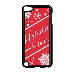 Winter Holiday Hours Apple Ipod Touch 5 Case (black)