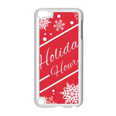 Winter Holiday Hours Apple Ipod Touch 5 Case (white)