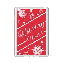 Winter Holiday Hours Ipad Mini 2 Enamel Coated Cases