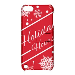 Winter Holiday Hours Apple Ipod Touch 5 Hardshell Case With Stand