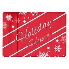 Winter Holiday Hours Samsung Galaxy Tab 10 1  P7500 Flip Case