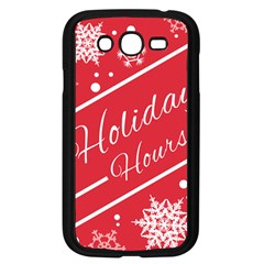 Winter Holiday Hours Samsung Galaxy Grand Duos I9082 Case (black)