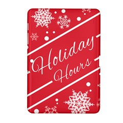 Winter Holiday Hours Samsung Galaxy Tab 2 (10 1 ) P5100 Hardshell Case