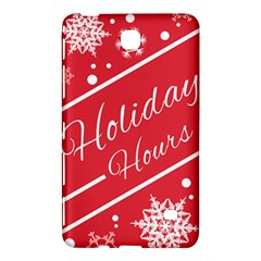 Winter Holiday Hours Samsung Galaxy Tab 4 (8 ) Hardshell Case